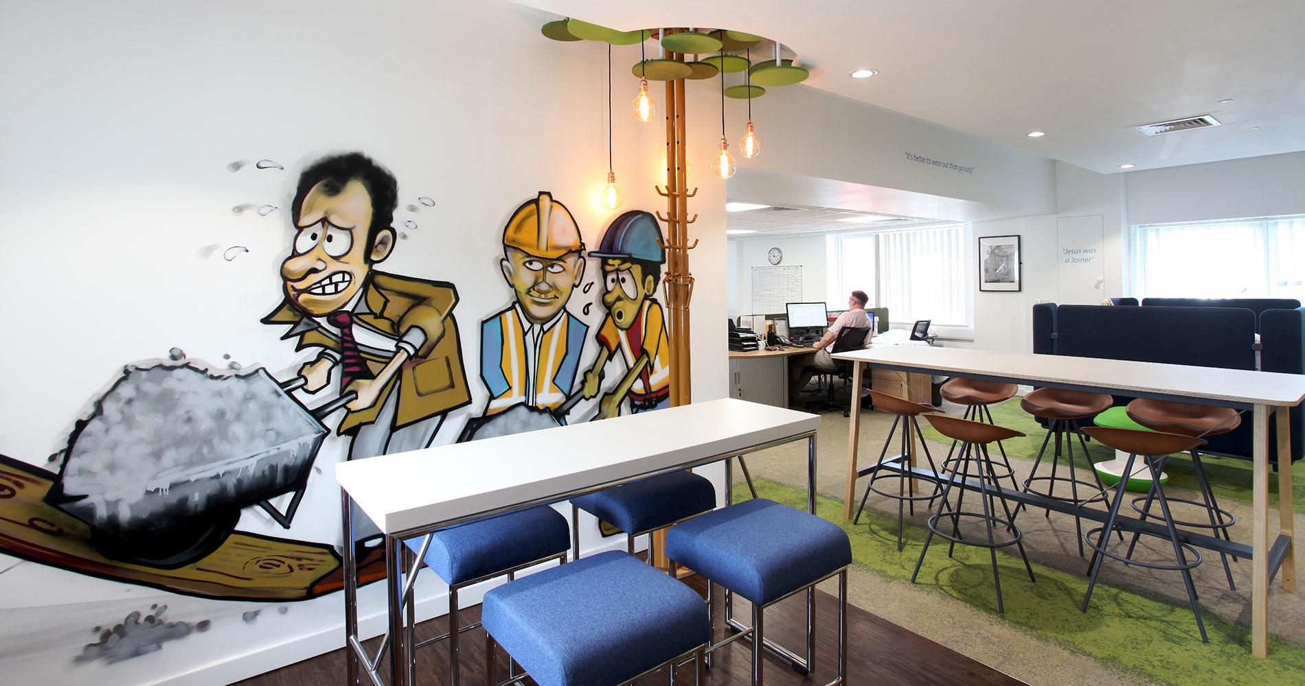 New Biophilic Head Office, MC Construction