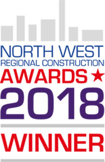 2018 Constructing Excellence North West Regional Construction Award winner