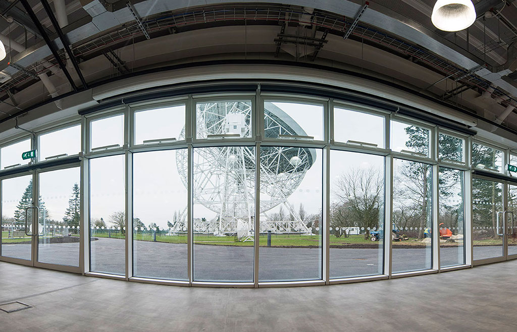 Star Pavilion at Jodrell Bank