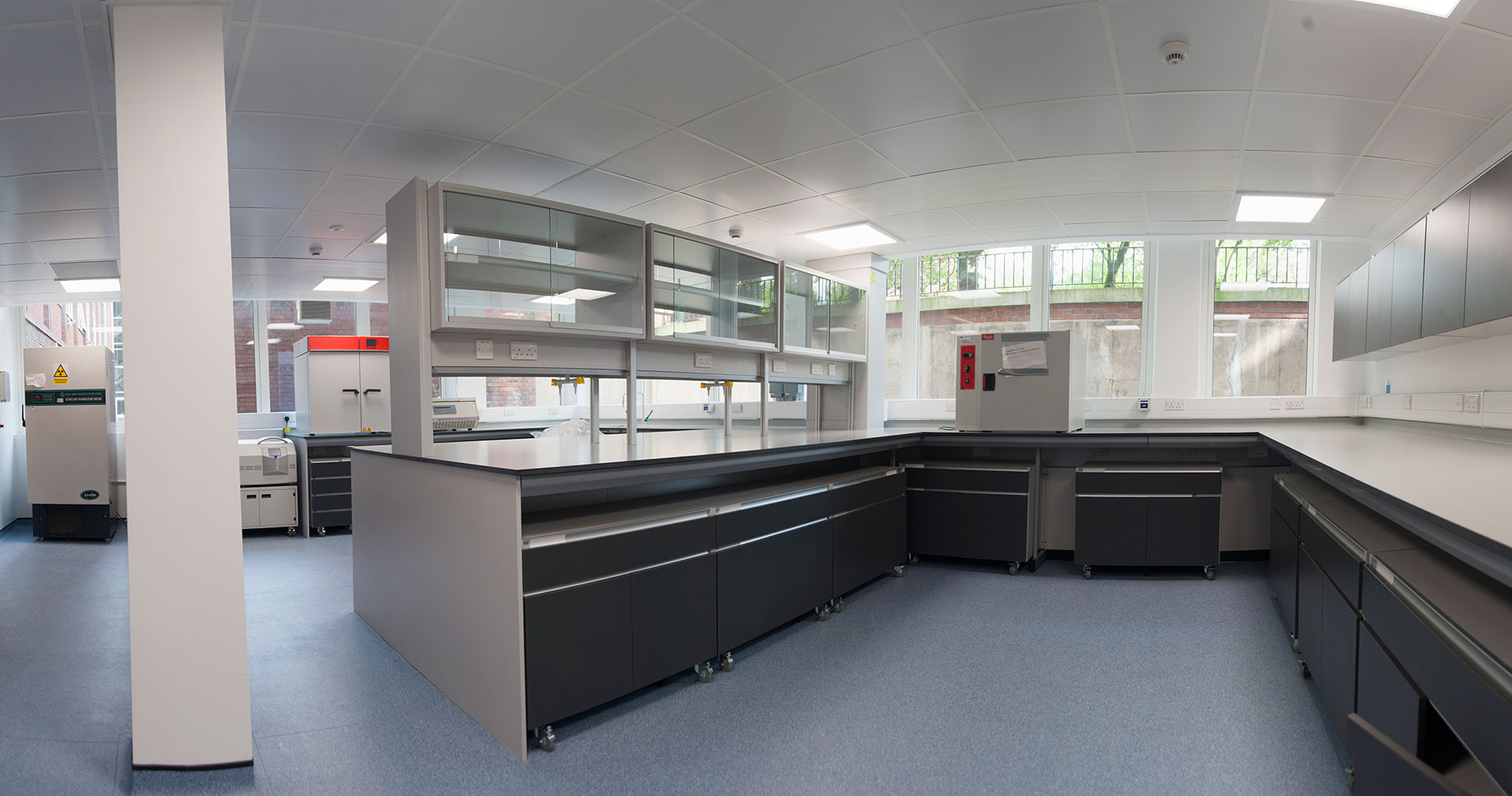 Laboratories of the Williamson Research Centre University of Manchester