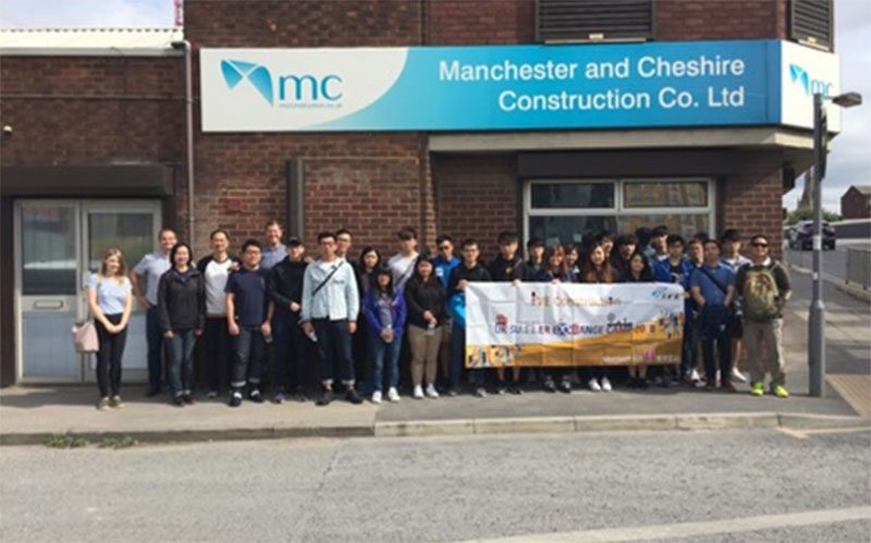 Education in Manchester's industrial heritage for Hong Kong construction students