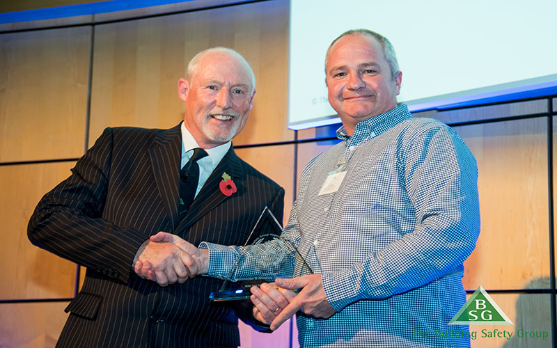 Accolade for Site Manager Tim Pugh