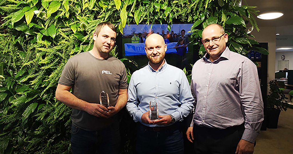 Presentation of supply chain awards Best Overall Supplier