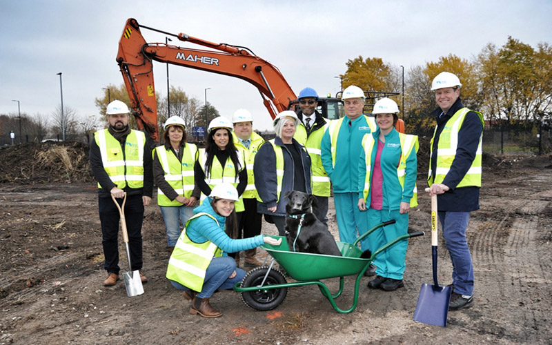 Work Starts on £2.4m Pet Wellbeing Centre for PDSA