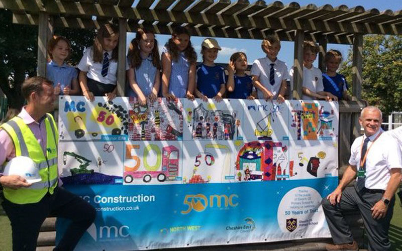 Sandbach School helps Semicentenary Celebrations